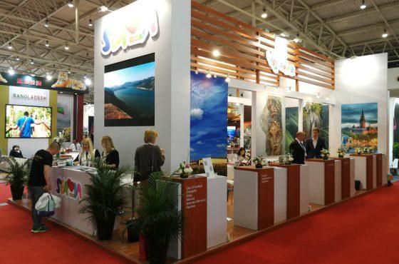 """Туристичка организација Града Новог Сада се први пут представила на сајму туризма """"COTTM"""" у Пекингу"""