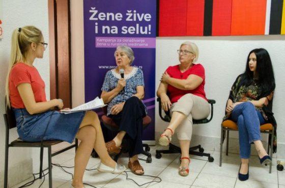 """Одржана трибина """"Жене живе и на селу"""" у Бегечу"""