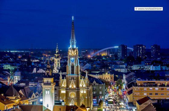 """Туристичка организација Града Новог Сада, покренула је кампању под називом""""Нови Сад – Хармонија која инспирише и буди сва чула"""""""